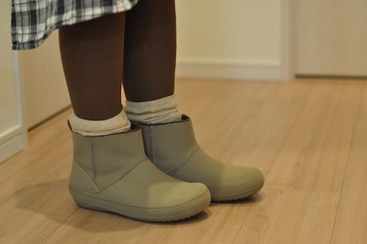 冷えとりファッション 靴を ...