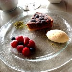パレスホテル東京のラウンジでケーキを食べたよ