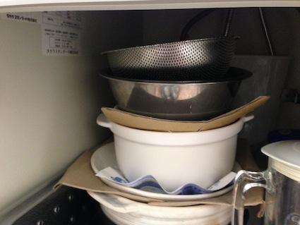 鍋の片付け