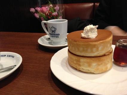 星乃珈琲パンケーキの値段