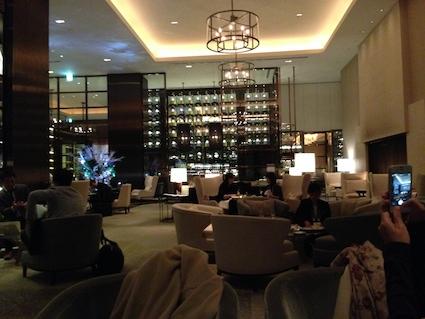 パレスホテル東京 ラウンジ