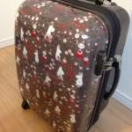 ムーミンのスーツケースで帰省のテンションを上げる