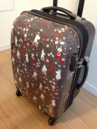ムーミンのスーツケース