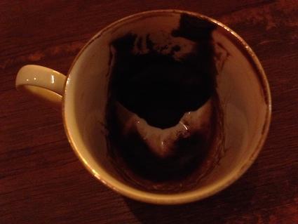 コーヒー占いのカップ