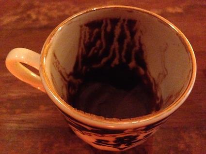 コーヒーで占い