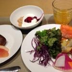 羽田エクセルホテル東急 朝食ビュッフェを楽しみました
