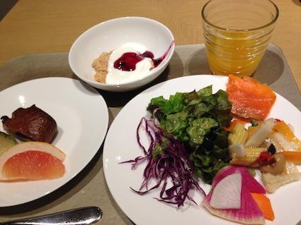 羽田レストラン 朝食ビュッフェ