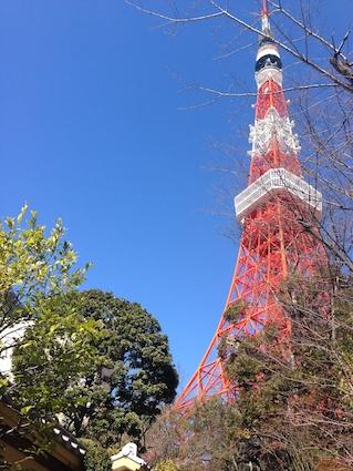 東京タワーと顔合わせ