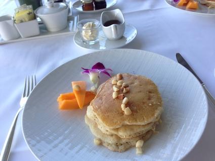 オーキッズの朝食パンケーキ