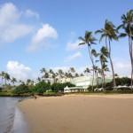 ハワイ カハラホテル プルメリアビーチハウスで朝食を