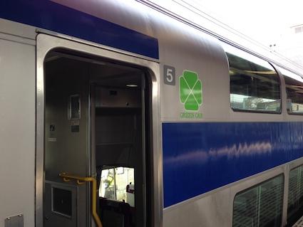 常磐線グリーン車1